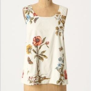 Anthropologie Meadow Rue blouse with pockets